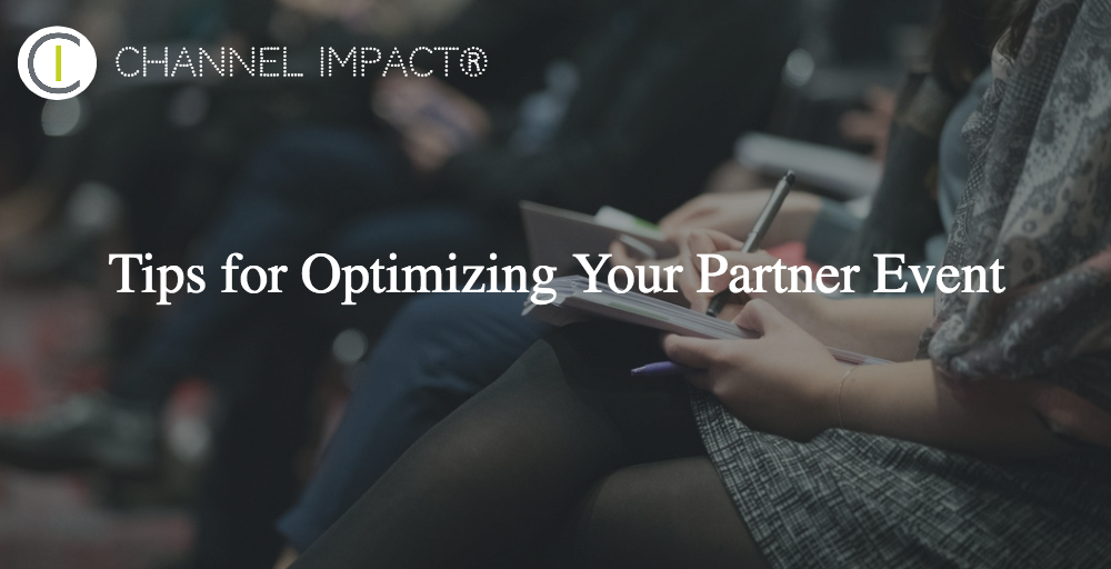 Tips for Optimizing Your Partner Event