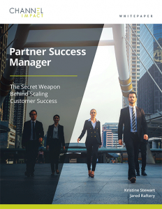 Partner Success Manager white paper cover