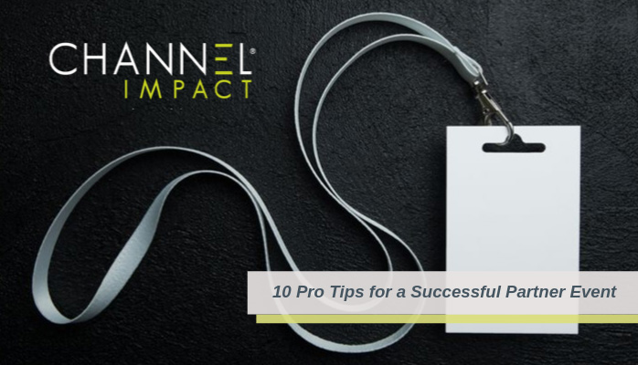10 Pro Tips for Partner Events graphic
