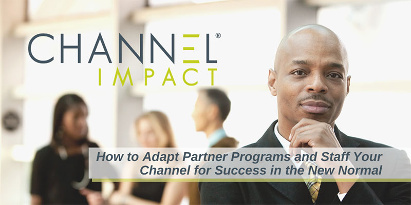 How to Adapt Partner Programs and Staff Your Channel for Success in the New Normal graphic